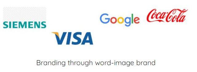 Branding through word mark