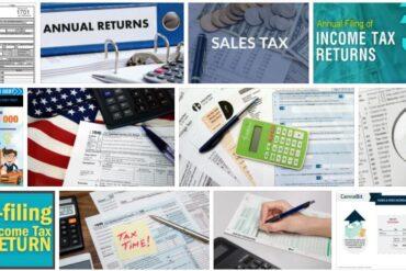 Annual Sales Tax Return